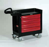 View: Rubbermaid TradeMaster 4513-88 4-Drawer Cart